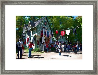 Boss Wench Framed Print by Liane Wright