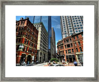 Boston 007 Framed Print by Lance Vaughn