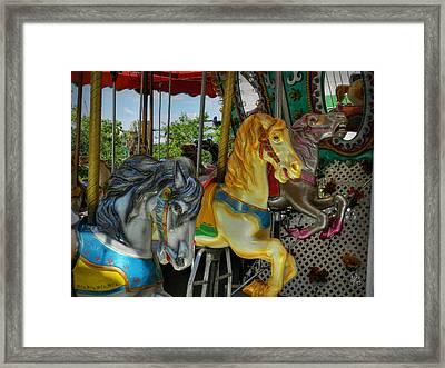 Boston 011 Framed Print