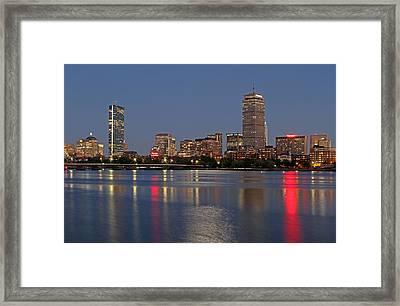 Boston 2024 Framed Print