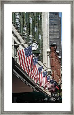 Boston 4th Of July Framed Print by Kerri Mortenson