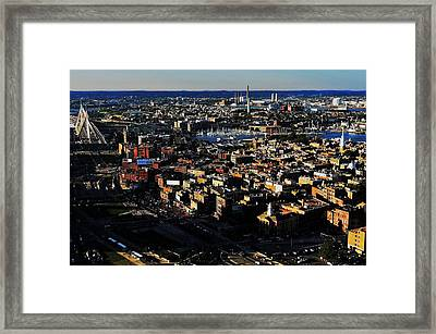 Boston Afternoon Framed Print by Benjamin Yeager