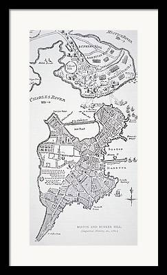 Charles River Drawings Framed Prints