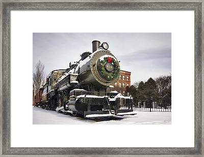 Boston And Maine Locomotive Framed Print by Eric Gendron
