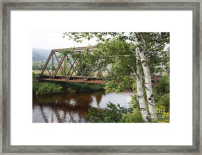 Boston And Maine Railroad - Bretton Woods New Hampshire Usa Framed Print by Erin Paul Donovan
