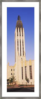 Boston Avenue United Methodist Church Framed Print by Panoramic Images