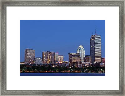 Boston Blues Framed Print by Juergen Roth