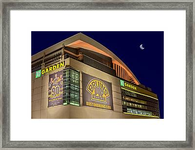 Boston Bruins Td Gardens Framed Print