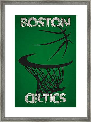 Boston Celtics Hoop Framed Print
