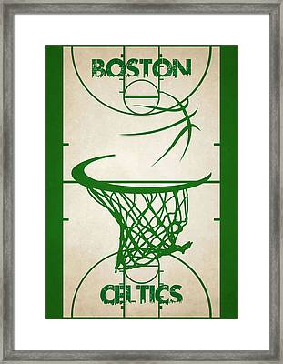 Boston Celtics Court Framed Print