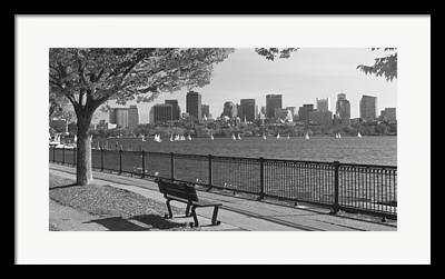 Charles River Framed Prints