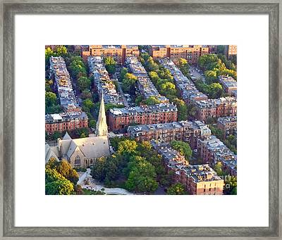 Boston Church Framed Print
