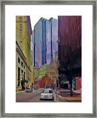 Boston City Centre 2 Framed Print by Yury Malkov