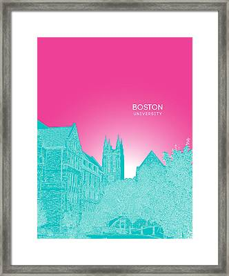 Boston College Gasson Hall Framed Print by Myke Huynh