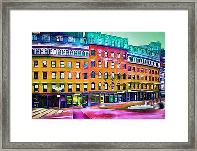 Boston Colors 1 Framed Print by Yury Malkov