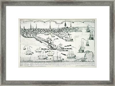 Boston Harbour Framed Print by British Library