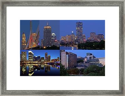 Boston Hotels Framed Print by Juergen Roth