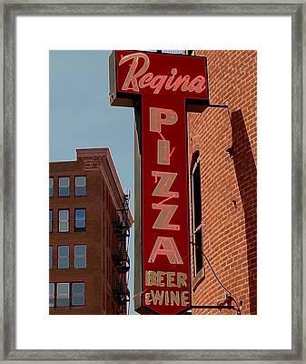 Boston Institution Framed Print