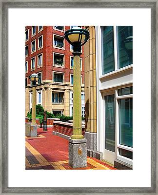Boston Interior Framed Print by Oleg Zavarzin