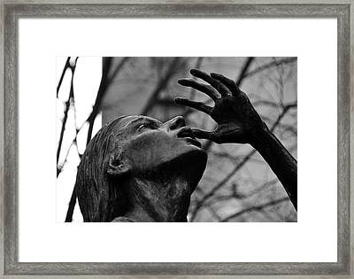 Boston Irish Famine Memorial Framed Print