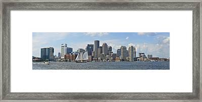 Boston Framed Print by John Brown