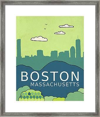 Boston Framed Print