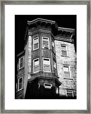 Boston Living Framed Print by John Rizzuto