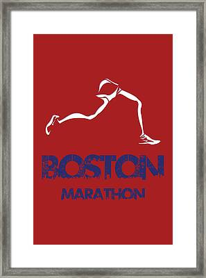Boston Marathon1 Framed Print