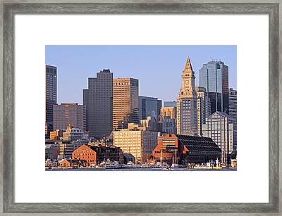 Boston Marriott Long Wharf Framed Print