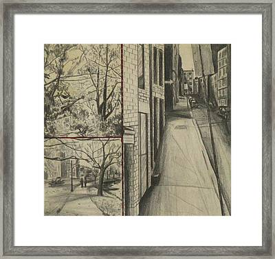 Boston Memories Framed Print