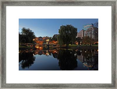 Boston Morning Show Framed Print