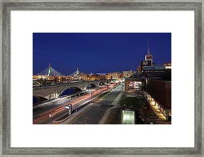 Boston Museum Of Science Framed Print by Juergen Roth