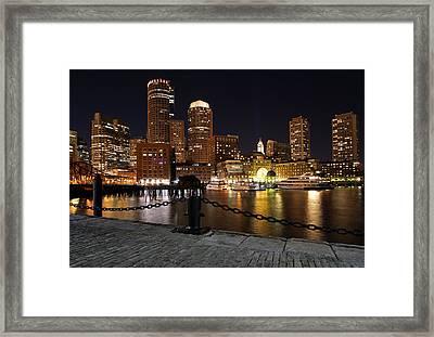 Boston Odyssey  Framed Print