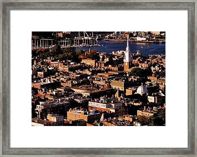 Boston Old North Church Framed Print