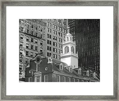 Boston Old State House Framed Print