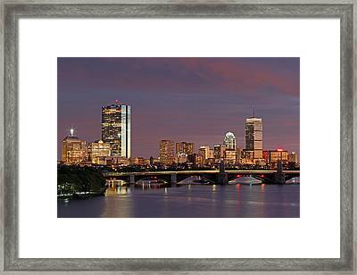 Boston Pride Framed Print
