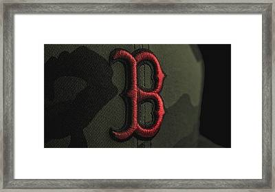 Boston Red Sox Framed Print by David Haskett