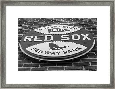 Boston Red Sox World Series 1918 Framed Print by John McGraw
