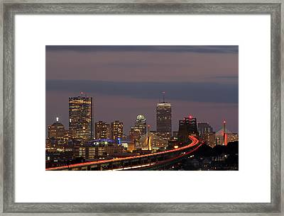 Boston Rediscovered Framed Print by Juergen Roth