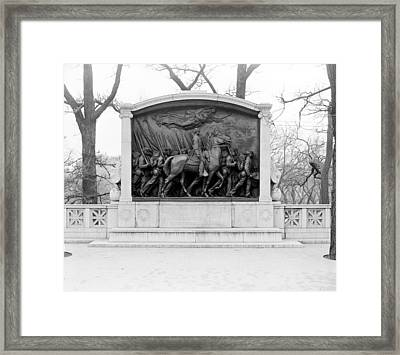 Boston Shaw Memorial Framed Print
