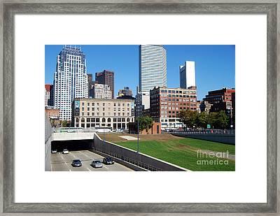 Boston Southeast Expressway Framed Print by Rosemarie Morelli