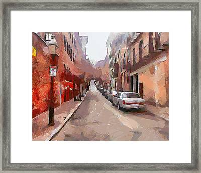 Boston Streets 1 Framed Print by Yury Malkov