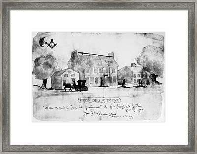 Boston: Tavern, 1773 Framed Print by Granger