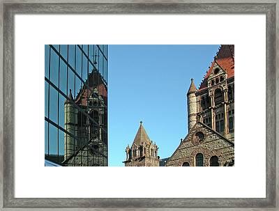 Boston Unity Reflected 2853 Framed Print