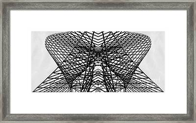 Bostonian Symmetry Framed Print by Sebastian Mathews Szewczyk