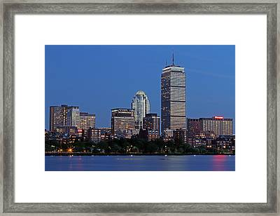 Bostonians Favorite Framed Print by Juergen Roth