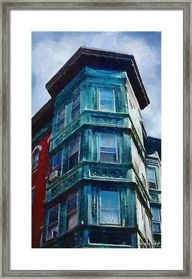 Boston's North End Framed Print by Jeff Kolker