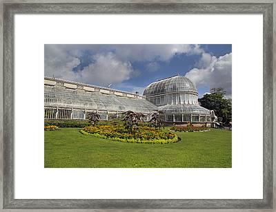 Botanic Gardens Belfast Ireland Framed Print by Betsy Knapp