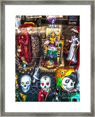 Botanica - 02 Framed Print by Gregory Dyer