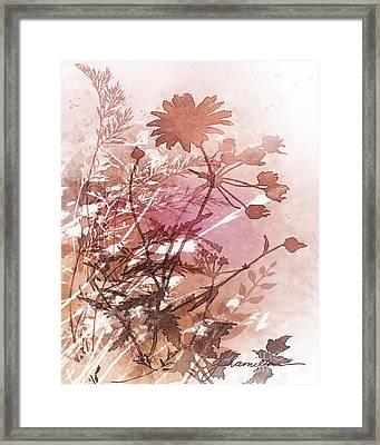 Botanical 2 Framed Print